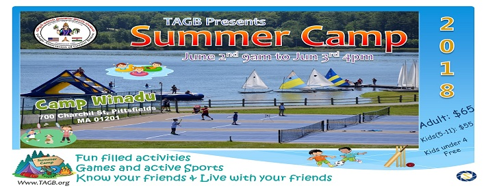 TAGB Summer Camp 2018