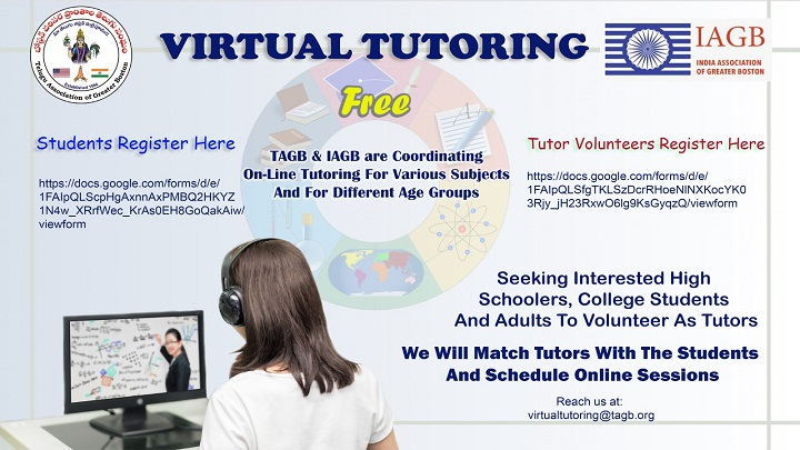 TAGB Virtual Tutoring